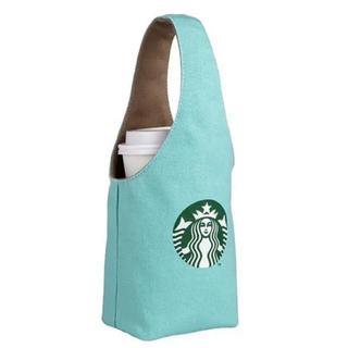 スターバックスコーヒー(Starbucks Coffee)のスターバックス スタバ 台湾 タンブラーケース ドリンクホルダー 2way 限定(トートバッグ)