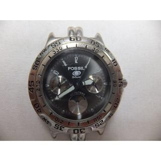 フォッシル(FOSSIL)のFOSSILフォッシル blue BQ-9023 クロノグラフ ムーンフェイズ(腕時計(アナログ))