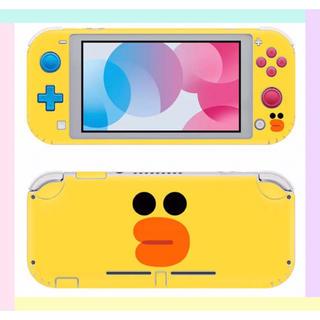 ニンテンドースイッチ(Nintendo Switch)の◎SALE◎サリー 任天堂SwitchLite 保護スキンシール✦汚れ防止(その他)