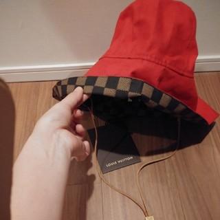 ルイヴィトン(LOUIS VUITTON)のルイヴィトン 帽子 ダミエ柄(ハット)