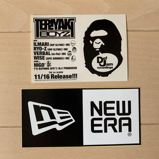 A BATHING APE - NEW ERA & A BATHING APE  ステッカーセット