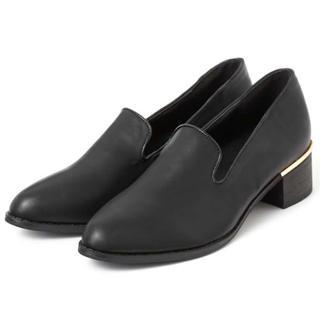 グレイル(GRL)のスリッポンマニッシュローファー(ローファー/革靴)