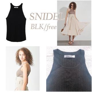 snidel - アメスリリブニット アメスリトップス