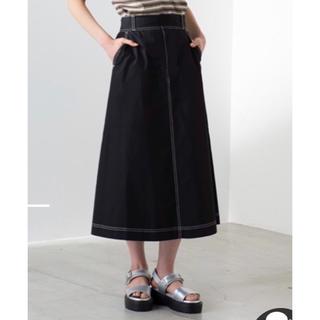 ウィゴー(WEGO)のWEGO 黒 スカート(ロングスカート)