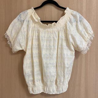 ヘザー(heather)の半袖 トップス ブラウス(Tシャツ(半袖/袖なし))