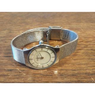 スカーゲン(SKAGEN)のSKAGEN デンマーク  スカーゲン  レディース 腕時計(腕時計)