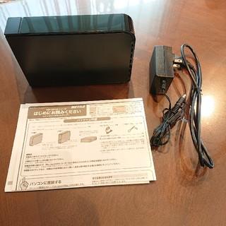 バッファロー(Buffalo)のバッファロー USB外付けHDD 2TB(PC周辺機器)