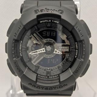 ベビージー(Baby-G)のG-SHOCK baby-G BA-110BC-1AJF オールブラック(腕時計(デジタル))