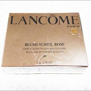 ランコム(LANCOME)の新品 LANCOME ブラッシュ スプティル ローズ チーク ランコム(チーク)