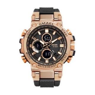 SMAEL 1803 スポーツウォッチ(ローズゴールド)(腕時計(デジタル))