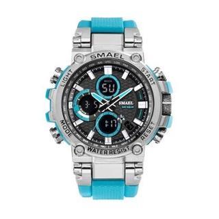 SMAEL 1803 スポーツウォッチ(ライトブルー)(腕時計(デジタル))