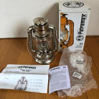 ペトロマックス(Petromax)の廃盤 hl1 ストームランタン 予備ホヤ付き ペトロマックス(ライト/ランタン)