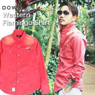 ダブル(DOWBL)のDOWBL ダブル フラミンゴシャツ(シャツ)