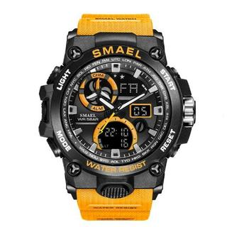 SMAEL 8011 スポーツウォッチ(オレンジ)(腕時計(デジタル))