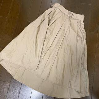 ディスコート(Discoat)のテールスカート ベージュ(ロングスカート)