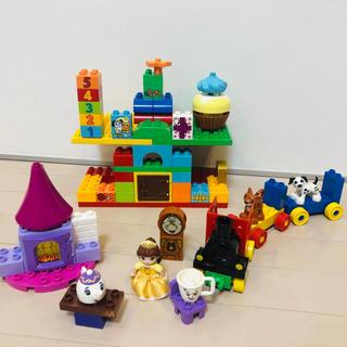Disney - LEGO デュプロ☆美女と野獣 電車
