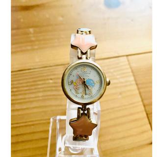 リトルツインスターズ(リトルツインスターズ)のキキララ  リトルツインスターズ 腕時計 サンリオ(キャラクターグッズ)