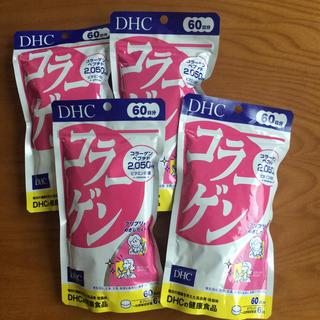 ディーエイチシー(DHC)のdhc  コラーゲン 60日分 ×4袋(コラーゲン)