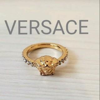 ヴェルサーチ(VERSACE)のVERSACE ヴェルサーチsize9号メドゥーサピンキーリング 指輪(リング(指輪))