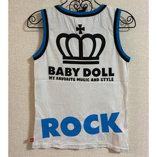 BABYDOLL - ♥BABY DOLL タンクトップ XSサイズ ⑥