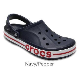 クロックス(crocs)の30cm クロックスBayaband Clog Navy / Pepper 新品(サンダル)