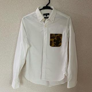 ビームス(BEAMS)のシャツ ポロシャツ BEAMS HEART 迷彩ポケット ミリタリー(ポロシャツ)