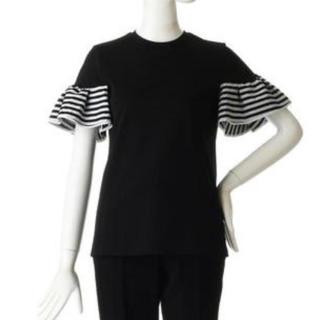 バーニーズニューヨーク(BARNEYS NEW YORK)のボーダーズアットバルコニー⭐︎ラッフルスリーブTee フリル(Tシャツ(半袖/袖なし))