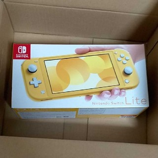 ニンテンドースイッチ(Nintendo Switch)の任天堂 Switch lite イエロー 【新品未開封】(家庭用ゲーム機本体)