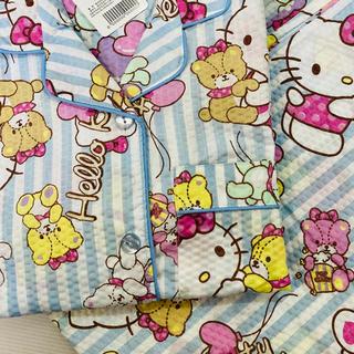 ハローキティ(ハローキティ)のハローキティ 新品未使用パジャマ L 半袖長ズボン(パジャマ)
