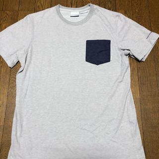 コロンビア(Columbia)のコロンビア Tシャツ グレー Mサイズ(Tシャツ/カットソー(半袖/袖なし))
