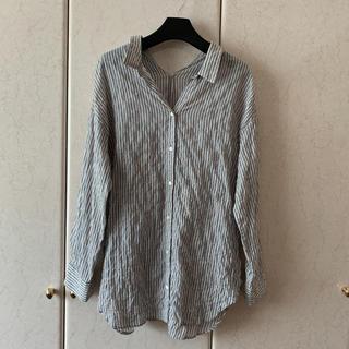 イエナスローブ(IENA SLOBE)の美品✨肩落ち 素敵なシアーシャツ(シャツ/ブラウス(長袖/七分))