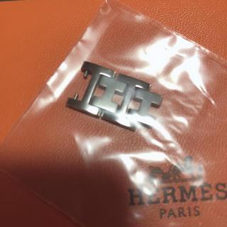 エルメス(Hermes)のエルメスHERMESクリッパーCL4.210シルバー腕時計コマ 2連  12mm(腕時計(アナログ))