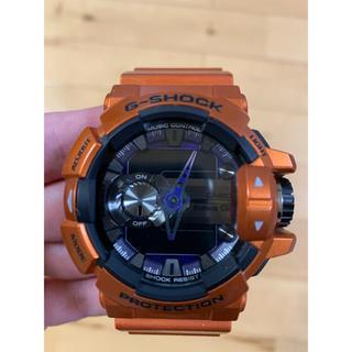 ジーショック(G-SHOCK)のG-SHOCK G'MIX GBA-400  オレンジ(腕時計(デジタル))