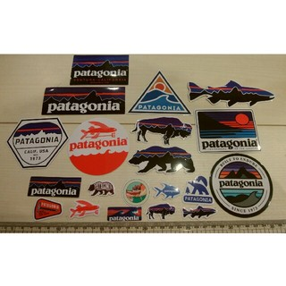 パタゴニア(patagonia)のPatagonia ステッカー20枚セット パタゴニアステッカー 新品未使用(その他)