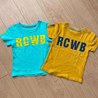 ロデオクラウンズワイドボウル(RODEO CROWNS WIDE BOWL)のRCWB ロデオクラウンズワイドボウル Tシャツ 2枚セット(Tシャツ/カットソー)
