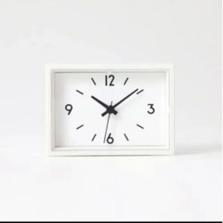 ムジルシリョウヒン(MUJI (無印良品))の無印良品 駅の時計 ミニ(置時計)