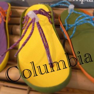コロンビア(Columbia)の[コロンビア] CHASKI SANDAL(黄色)(サンダル)