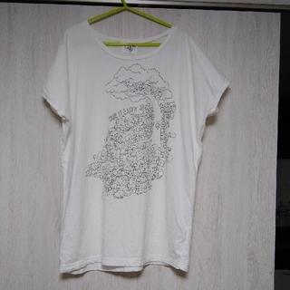 マーブル(marble)のmarble SUD★猫いっぱい!ゆるTシャツ カットソー日本製(Tシャツ(半袖/袖なし))
