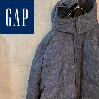 ギャップ(GAP)のGAP デニムカラーダウンジャケット(ダウンジャケット)