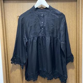 アパートバイローリーズ(apart by lowrys)のレースシャツ(シャツ/ブラウス(長袖/七分))