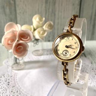アガット(agete)の【電池交換済み】agete アガット 腕時計 アンティーク調 ゴールド(腕時計)