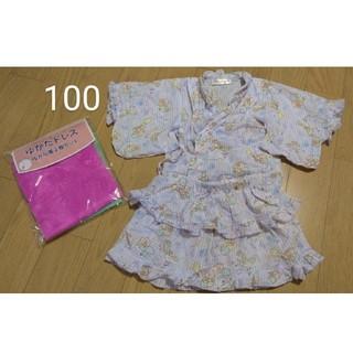サンリオ(サンリオ)のキキララ 甚平 浴衣 100サイズ(甚平/浴衣)