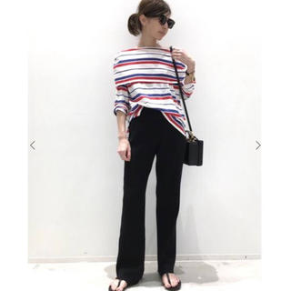 アパルトモンドゥーズィエムクラス(L'Appartement DEUXIEME CLASSE)のL'Appartement アパルトモン Rib Knit パンツ 36(カジュアルパンツ)