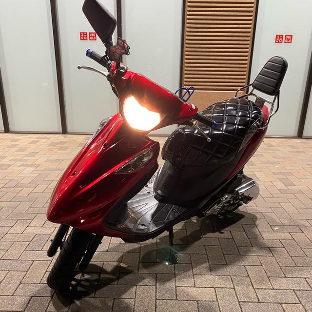 スズキ(スズキ)のアドレスv125g 車体 k6規制前 激安‼️ 自動車/バイクのバイク(車体)の商品写真
