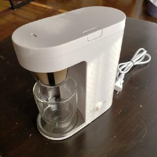 ムジルシリョウヒン(MUJI (無印良品))の無印良品 MUJI コーヒーメーカー MJ-SCM1(コーヒーメーカー)