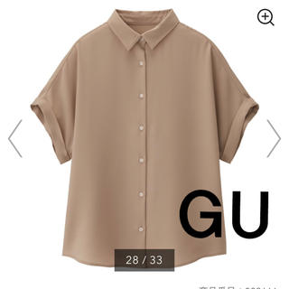 GU - 【新品未使用】ブラウス GU エアリーシャツ