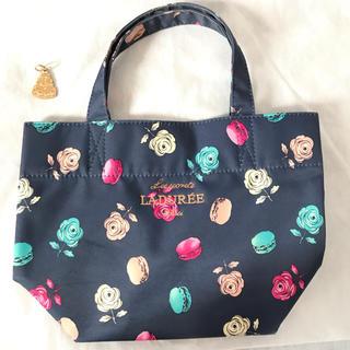 ラデュレ(LADUREE)のラデュレ ミニバッグ ハンドバッグ コンパクトな手提げ丸洗い可能バッグインバッグ(ハンドバッグ)