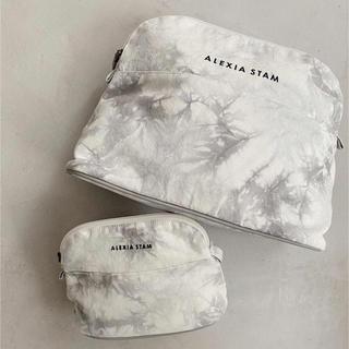アリシアスタン(ALEXIA STAM)のalexiastam small ポーチ GLAY(ポーチ)