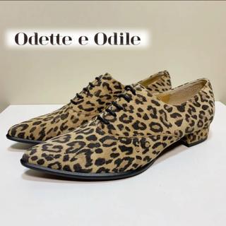 オデットエオディール(Odette e Odile)の☆未使用 オデット エ オディール ユナイテッドアローズ レオパード シューズ(ローファー/革靴)