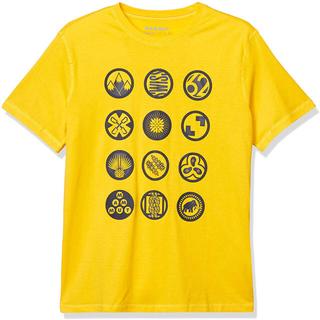 マムート(Mammut)のMAMMUT マムート 半袖Tシャツ マッソーネTシャツ イエロー メンズL新品(Tシャツ/カットソー(半袖/袖なし))